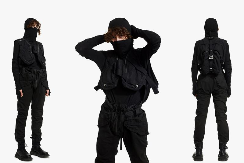 hamcus techwear brand china guangzhou fall winter 2020 fw20 eden lookbook collection release date info buy website store