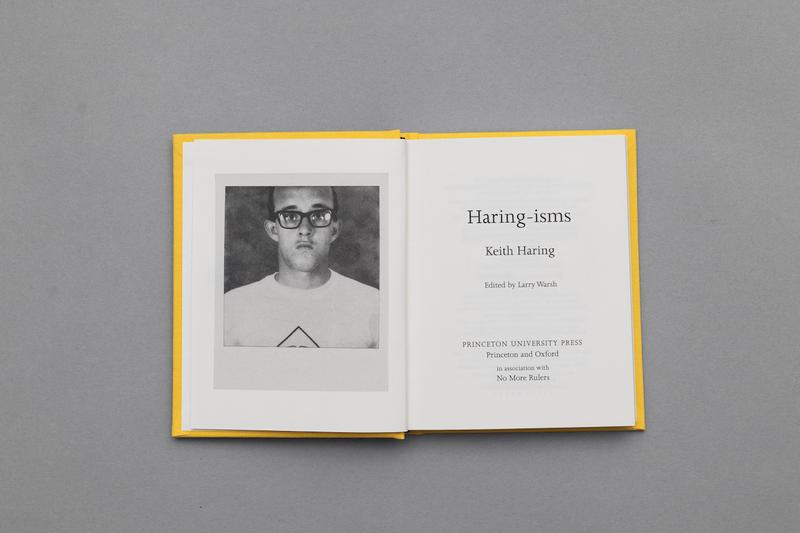 haringisms book no more rulers keith haring princeton university press