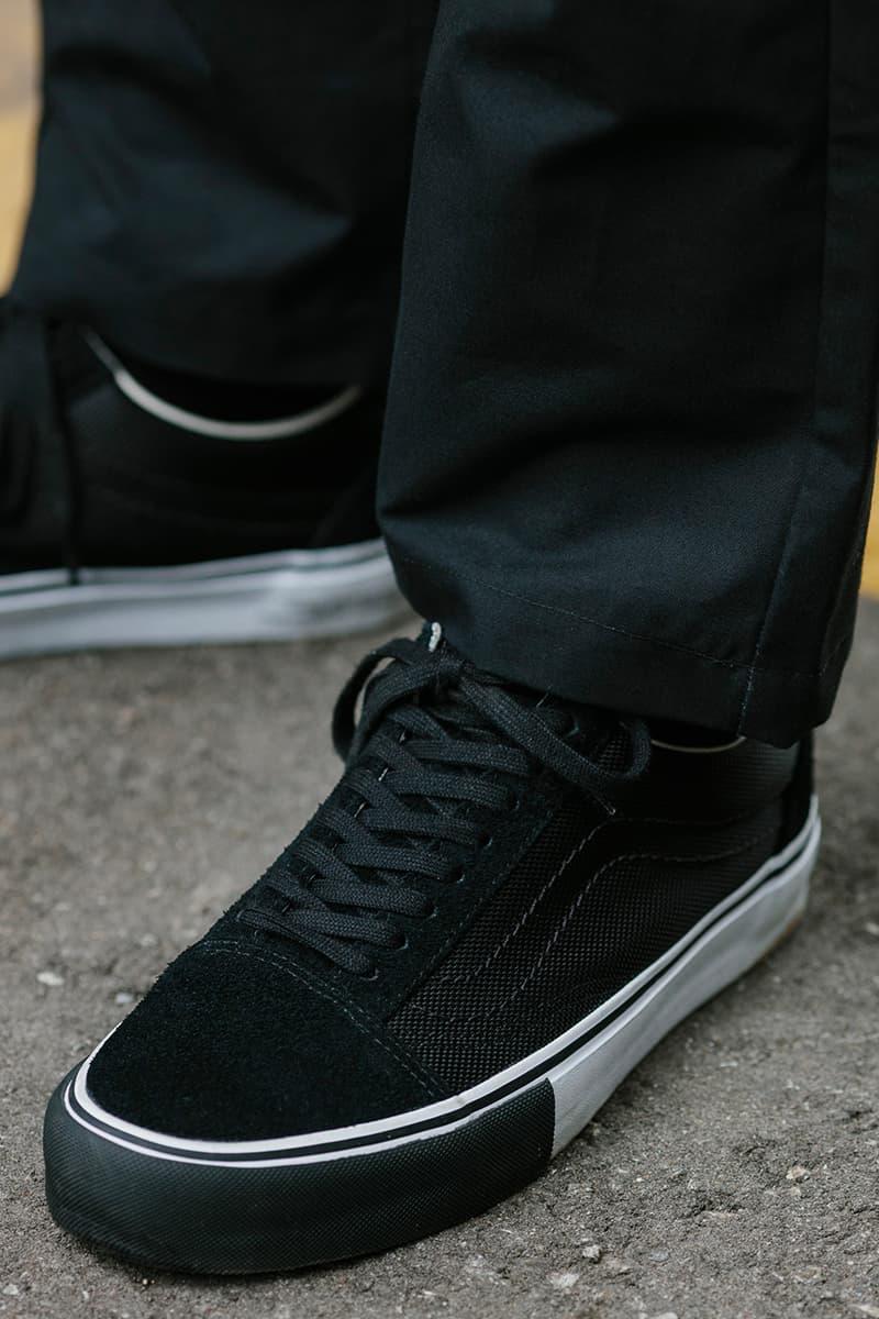 HAVEN Vans Vault Fall Winter 2020 Collection Sk8-Hi Old Skool Release Info Black tan