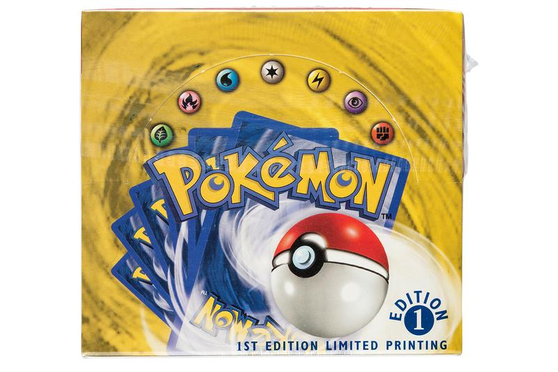 Pokémon 1999 First-Edition Box Set Auction Record  Wizards of the Coast pikachu Charizard Blastoise Venusaur  Heritage Auctions
