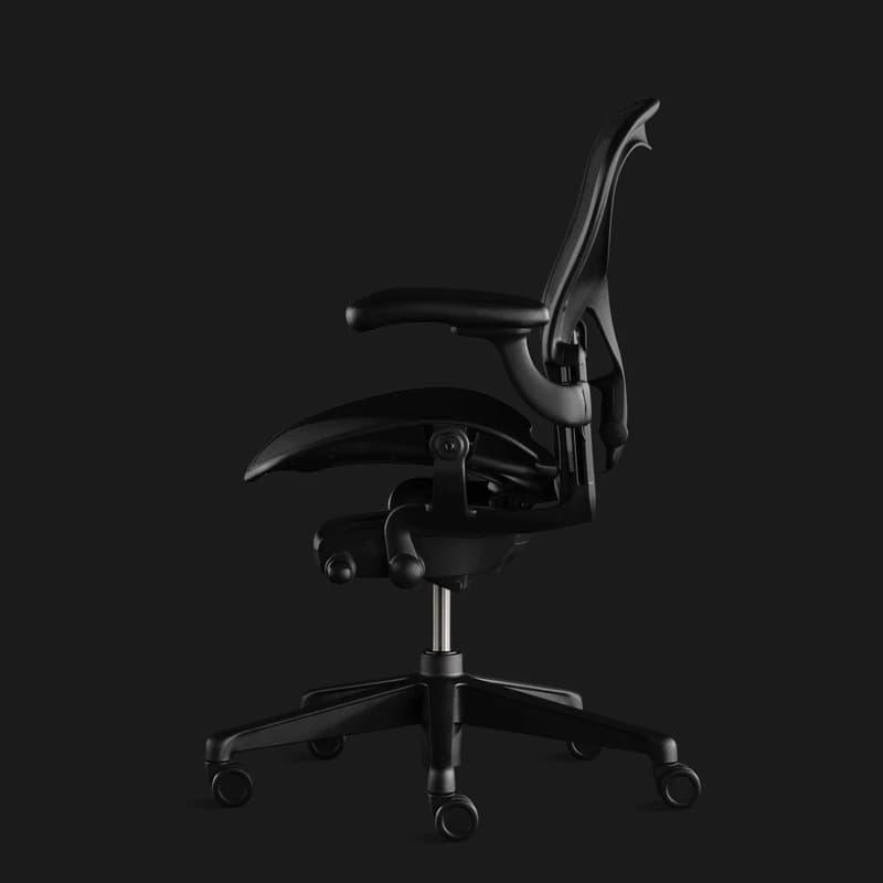 Herman Miller Aeron Chair Matte Gamer Edition black color version design esports gaming