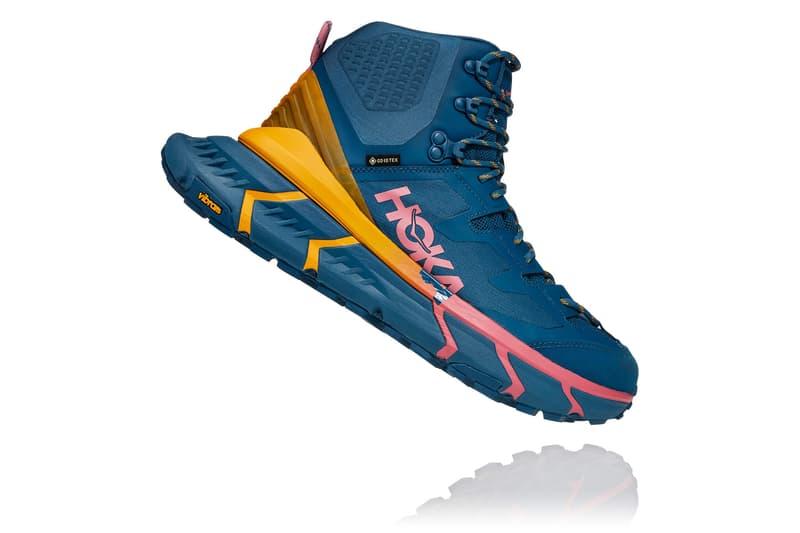 HOKA ONE ONE TenNine Hike GTX pre-order boots gore-tex Vibram Megadrip Ariaprene outdoors boots running shoes footwear