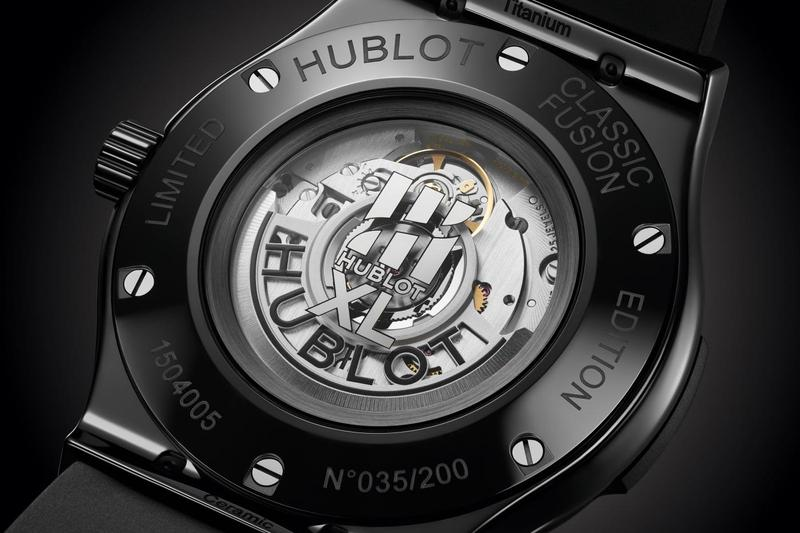 hublot classic fusion 45mm 40 years anniversary limited edition watches accessories timepiece horology