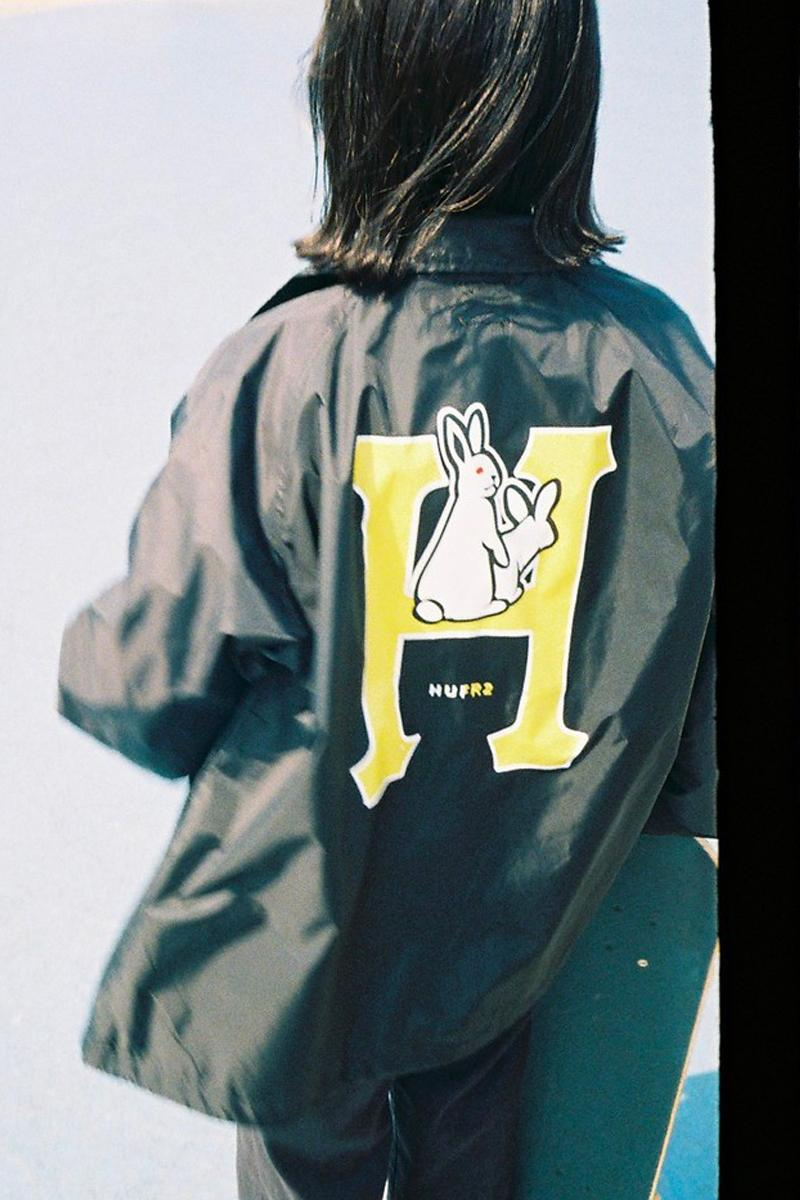 HUF Fxxking Rabbits 2020 Capsule menswear streetwear spring summer 2020 ss20 graphics Keith Hufnage