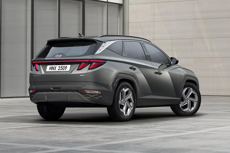 Hyundai Unveils Its Stunning 2022 Tucson SUV Korean Automotive Cars Compact Hybrid Cars  European