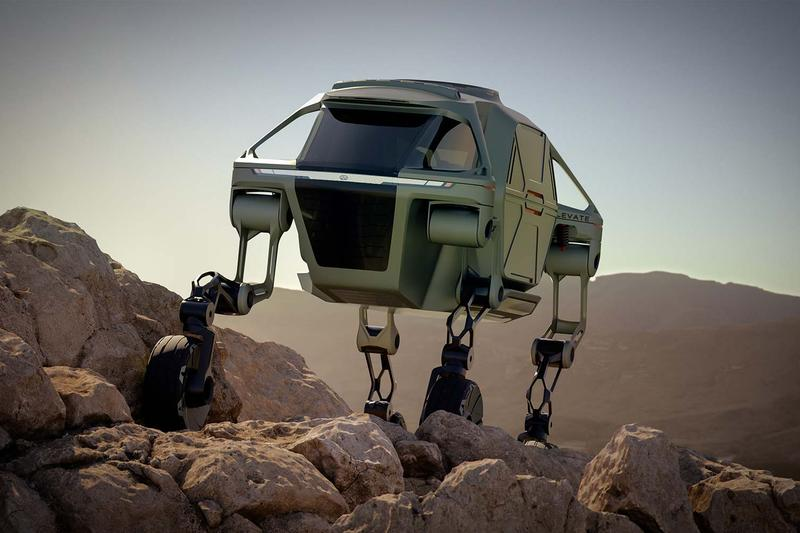 Hyundai New Horizons Studio Walking Car Internet Breaking Viral Machine Development Concept Future Ultimate Mobility Vehicle Transformers