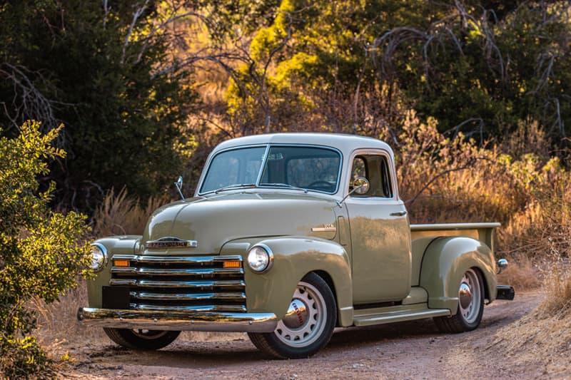 icon mid century 1950 chevrolet thriftmaster pick up truck classic custom