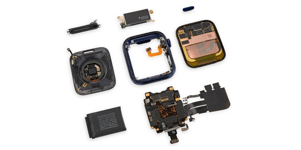 iFixit Dissects the Apple Watch 6