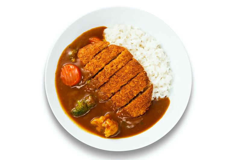 IKEA Japan Plant-Based Katsu Curry menu options info cabbage rolls chocolate mousse and kebab