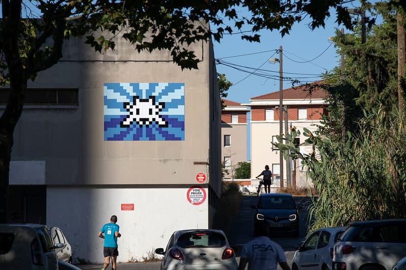 invader was here mamo arts centre exhibition invasion workshop