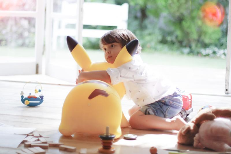 Jam Corp Inflatable Pikachu POKEMON AIR Release joy around me game freak pokemon Japan pikachu Pokémon home