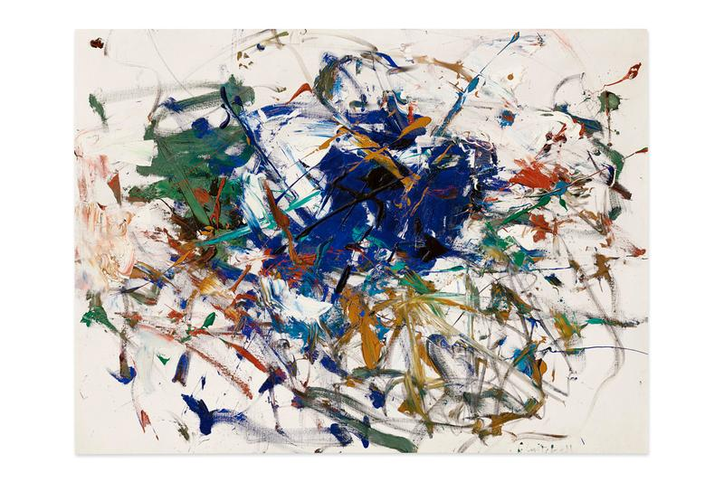 Christie's New York Auction Jean-Michel Basquiat portrait 'MP' Joan Mitchell 'Untitled' A New York State of Mind: An Important Private Collection