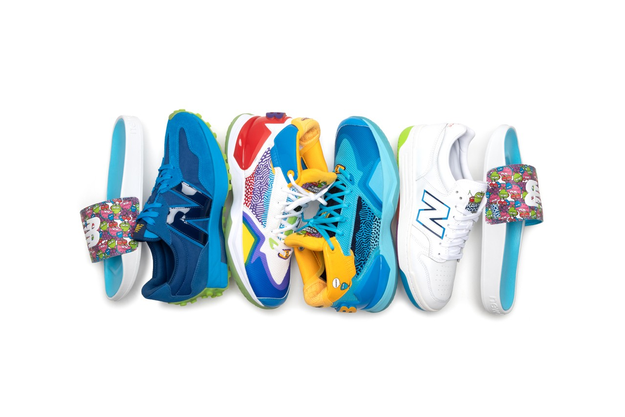 Jolly Rancher x New Balance KAWHI Collection NB 327 480 Slide Kawhi Leonard Basketball