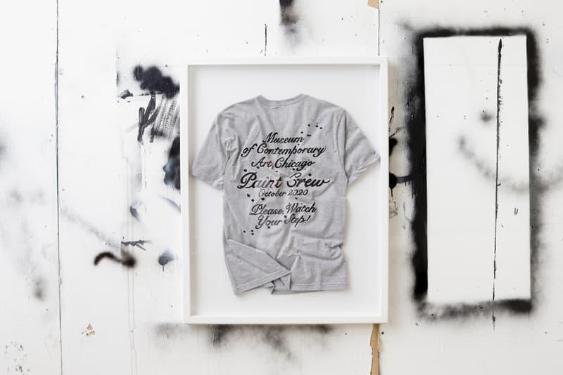 joshua vides museum of contemporary art chicago installation artwork collaboration apparel