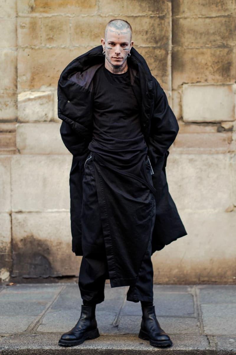 JULIUS Permanent Line Launch Release Collection Lookbook Info Buy Price gasmask casrgo pants leather jacket