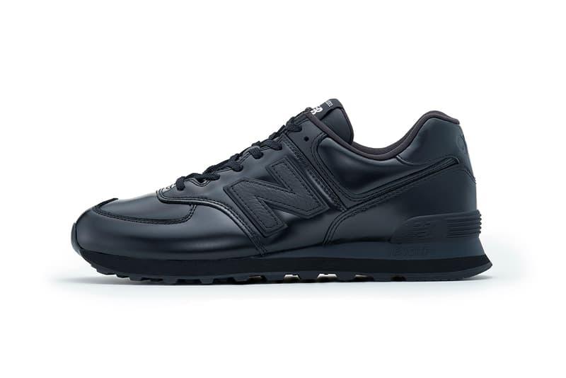 ML574JG black Junya Watanabe MAN New Balance 574 black menswear streetwear footwear shoes sneakers kicks runners trainers
