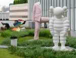 KAWS Unveils Giant 'WHAT PARTY' Statue in Hong Kong