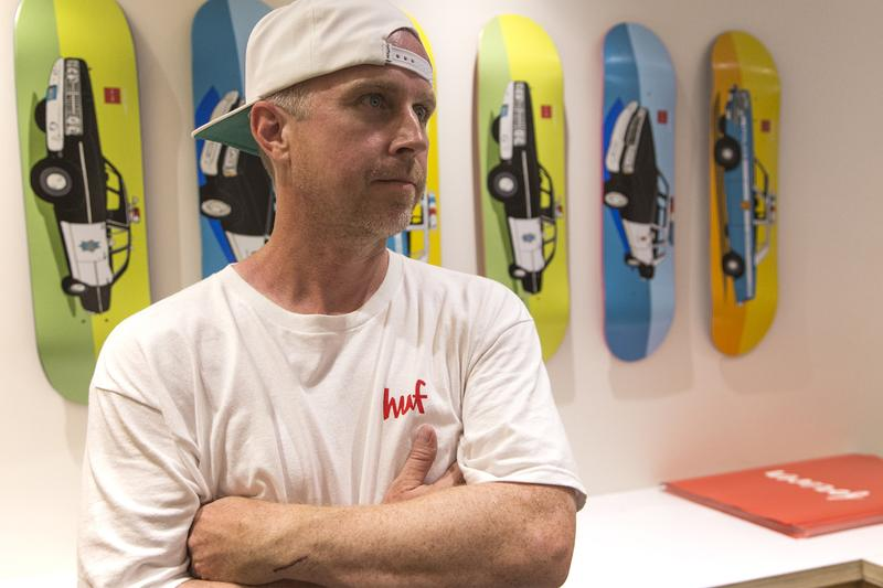 Keith Hufnagel Dead Age 46 brain cancer Info HUF Skate Icon