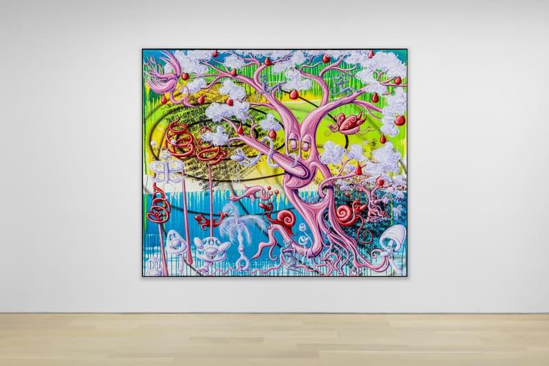 kenny scharf dystopian painting almine rech exhibition artwork