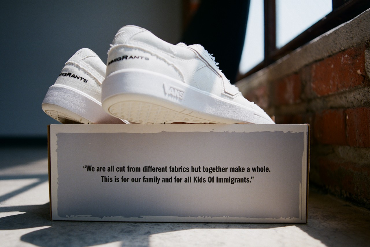 kids of immigrants vans lowland cc collaboration Daniel Buezo Weleh Dennis exclusive interview hypebeast official release date info photos price store list buying guide