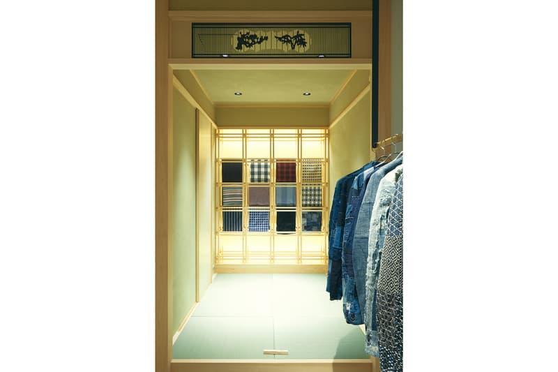 KUON First Flagship Store in Tokyo Harajuku Nagaya Kanome traditional kimono shop made-to-order Shinichiro Ishibashi