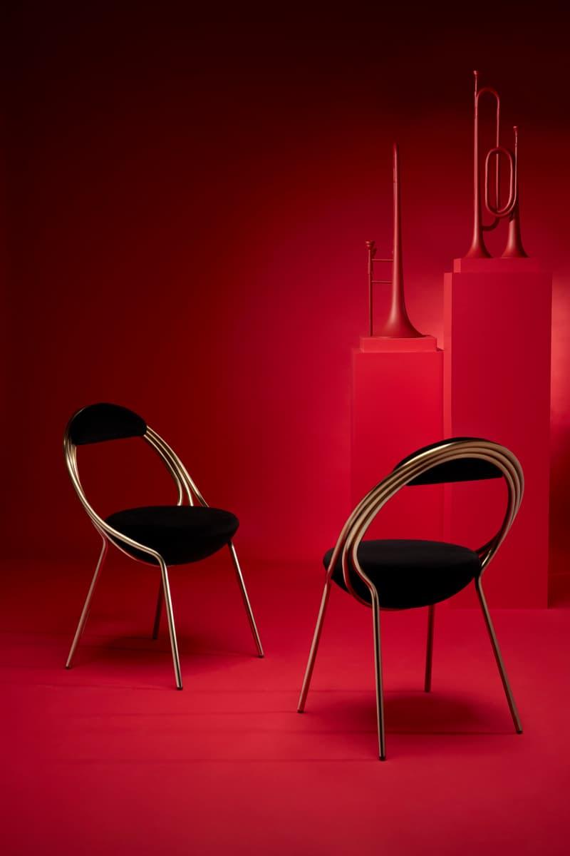 Lee Broom Maestro Chair Reveal Release Information Closer Look Homeware Furniture London Showroom Salone del Mobile London Design Festival