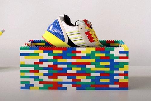 adidas Originals Teases Upcoming LEGO x ZX 8000 Collab