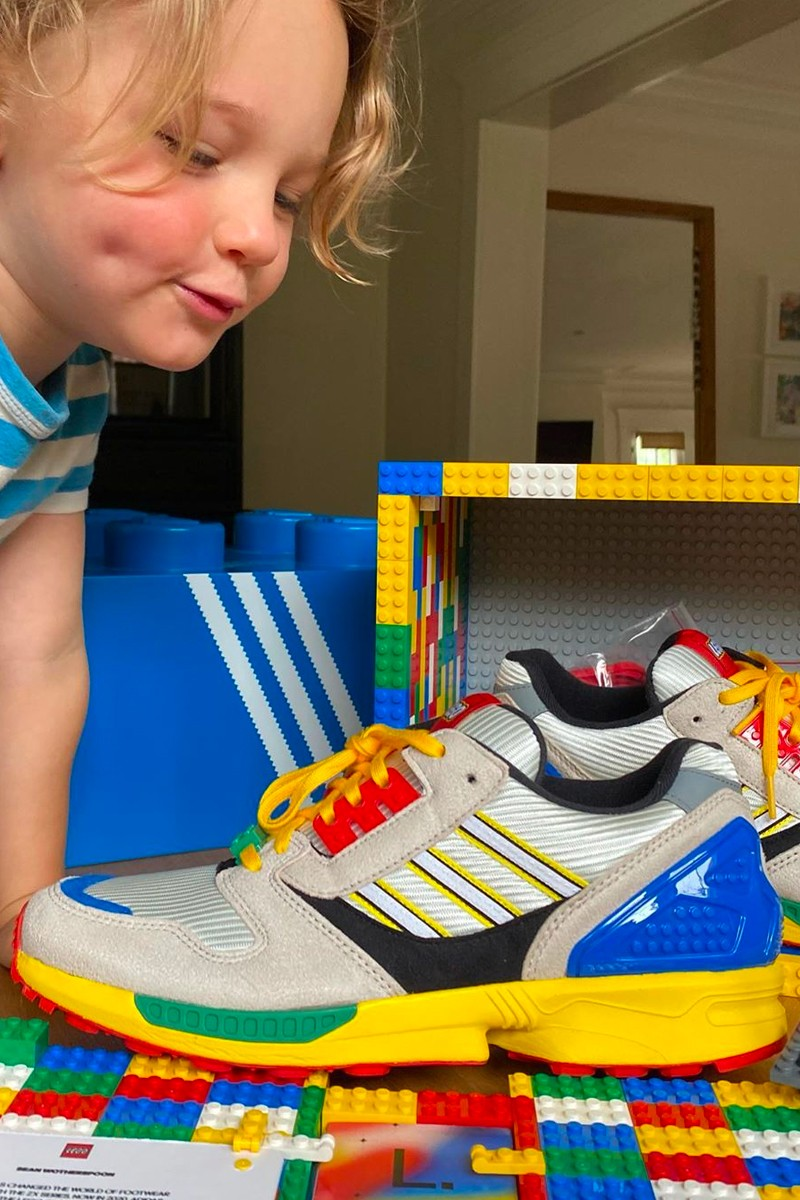 LEGO x adidas ZX 8000 Another Look