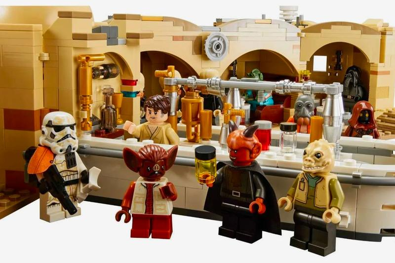 LEGO Star wars Mos Eisley Cantina set announcement news Luke Skywalker Light Saber Lucasfilms A New Hope C-3P0 Han Solo Ponda Baba Greedo