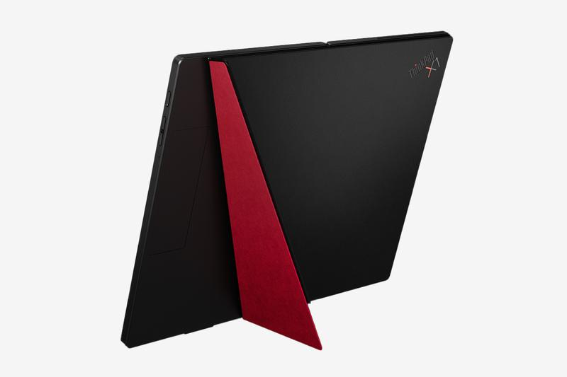 Lenovo Debuts Worlds First Foldable Laptop X1 Fold technology pc laptop touch screen display oled heat distributor computers