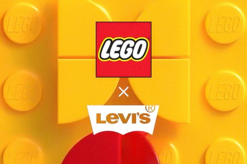 Levi's x LEGO Teaser blocks plate clothing design toys denim jackets jeans accessories