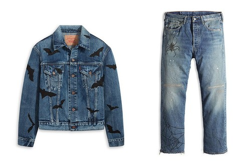 Levi's Vintage Clothing Readies Its Trucker Jacket and 501 Jeans for Halloween