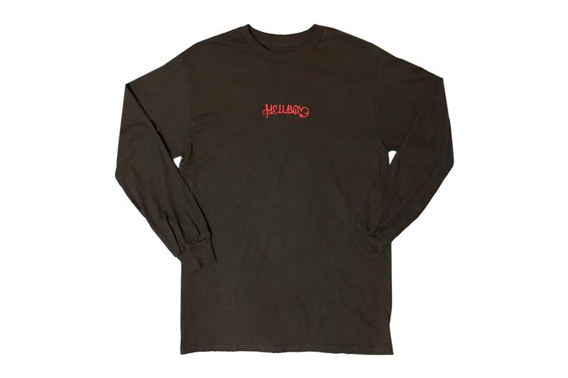 Lil Peep HELLBOY Streaming Platforms Merch Release T shirt Hoodie Cap 2016 mixtape Spotify Apple Music Buy Price