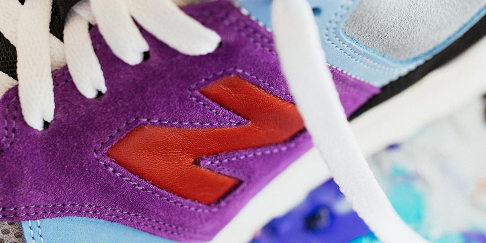 Louis de Guzman Reveals New Balance 574 Collaboration
