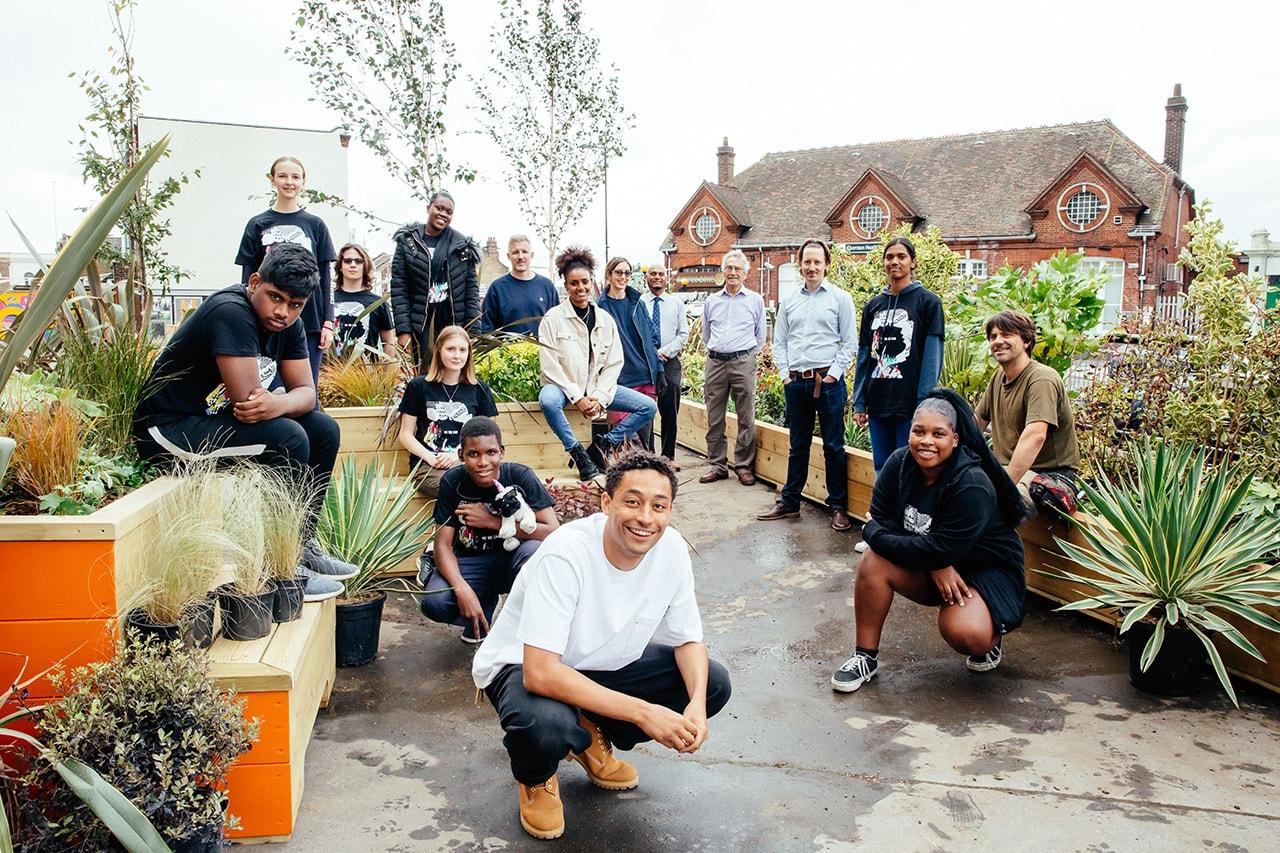loyle carner timberland croydon nature needs heroes greener London sustainability