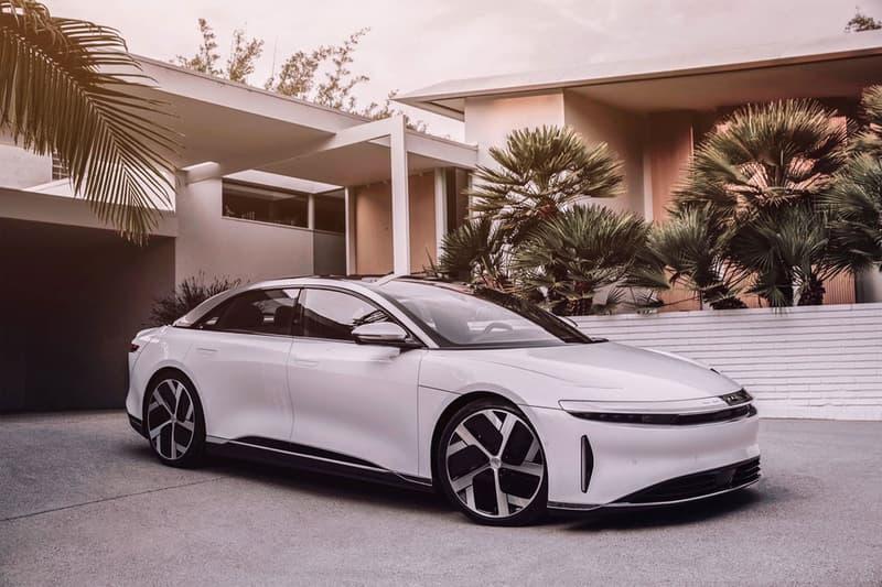 lucid motors california electric cars vehicles air luxury sedan quarter mile drag strip dash 9 seconds video