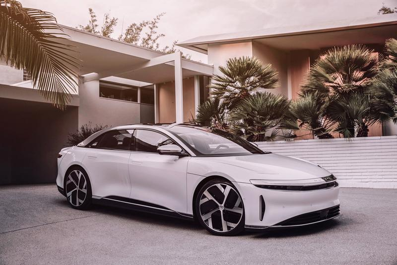 Lucid Motors Lucid Air Official Unveiled First Look EV Electric Cars Vehicles 517 Mile Range Mid Sized Family Sedan Luxury Car Automotives
