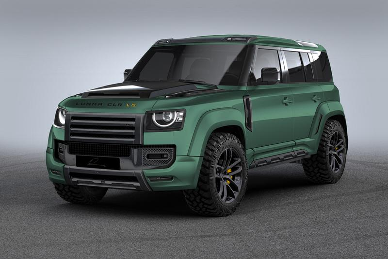 LUMMA Design LUMMA CLR LD Land Rover Defender Type L663 Wide body Kit 2020 Body Exhausts Stance Tuning Custom Built Rims Pimped Carbon Fiber 4x4 SUV
