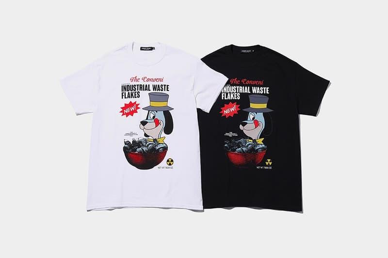MADSTORE UNDERCOVER THE CONVENI tshirts menswear streetwear spring summer 2020 collection capsule ss20 tees graphics cereal jun takahashi hiroshi fujiwara