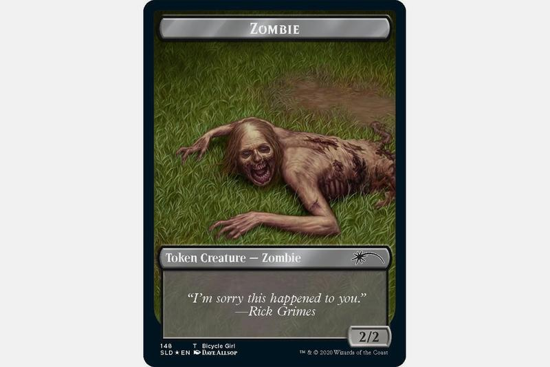 wizards of the coast magic the gathering the walking dead amc collaboration secret lair card game release