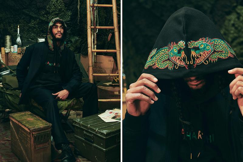 maharishi fall winter 2020 m.a.h.a. world corps military lookbook collection release information buy cop purchase