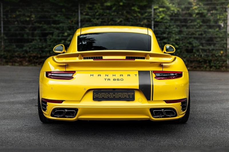 manhart porsche 911 turbo s 850 horsepower tuning upgrade custom performance german