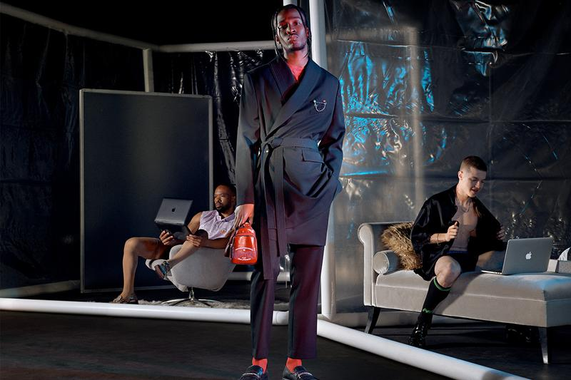 Martine Rose Spring/Summer 2021 Collection Lookbook Men's Women 1970s Underground Gay Scene San Francisco Football Culture Bankers Suits Sportswear Luxury Tailoring Subversion