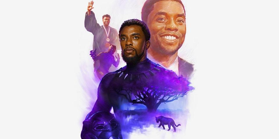 Marvel Unveils Official Chadwick Boseman Tribute Art
