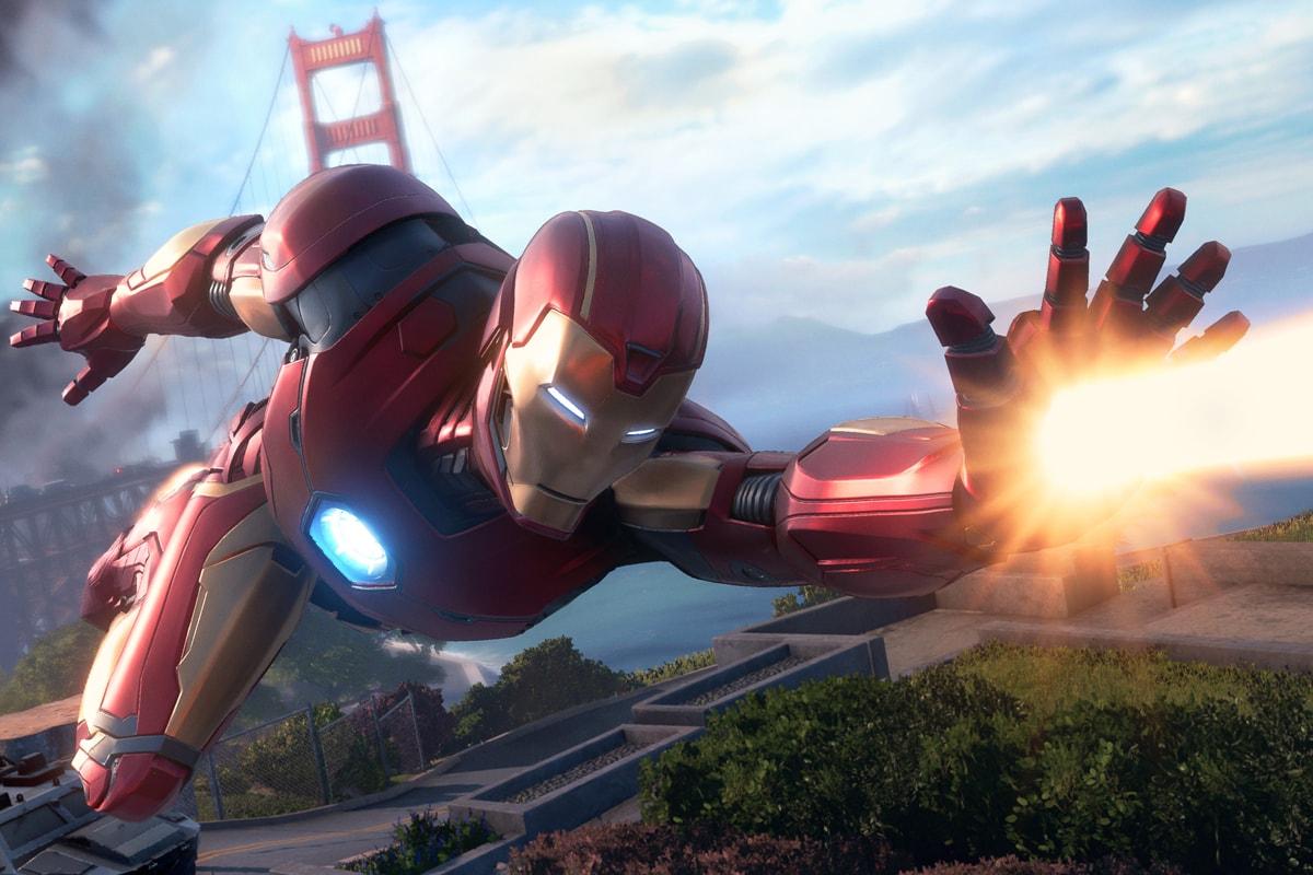 Marvel's Avenges SQUARE ENIX Crystal Dynamics Iron Man Thor Black Widow Captain America the Hulk Kamala Khan