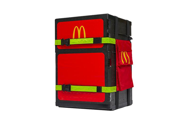 You Can Now Buy McDonald's Official Delivery Box Tmall fast-food China Takeout Delivery Scooter apps