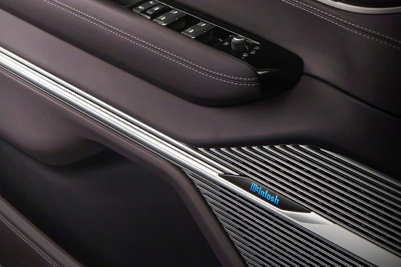 McIntosh Labs Jeep Wagoneer Concept Audi System New York hi-fi Jeep SUVs Luxury sound speakers