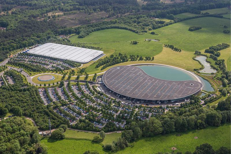 mclaren woking global headquarters fund raising sale 256 million USD leasing lease back