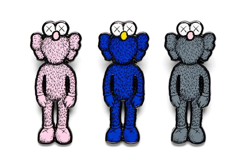 kaws companion ngv national gallery of victoria merchandise collection moma design store bff open release information pin sticker keyring magnet postcard