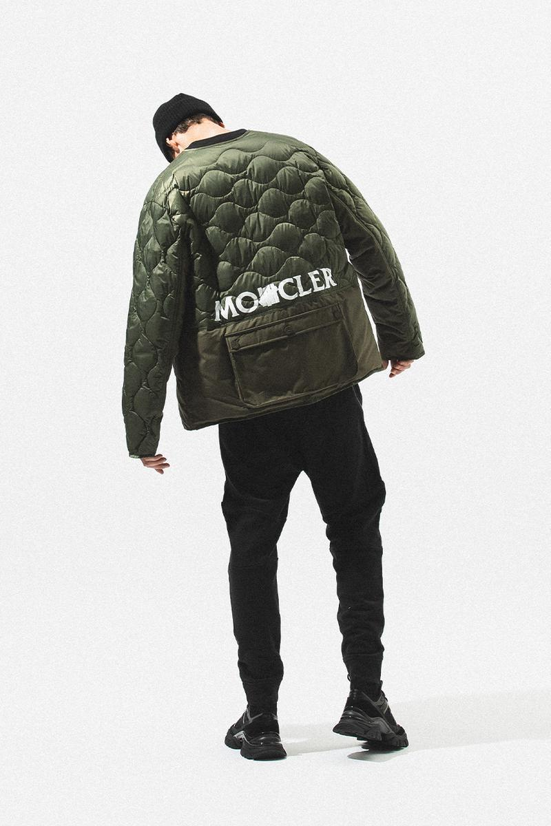Moncler 1952 undefeated release information 2020 fall winter 2020 fw20 where to cop HBX available coat outerwear